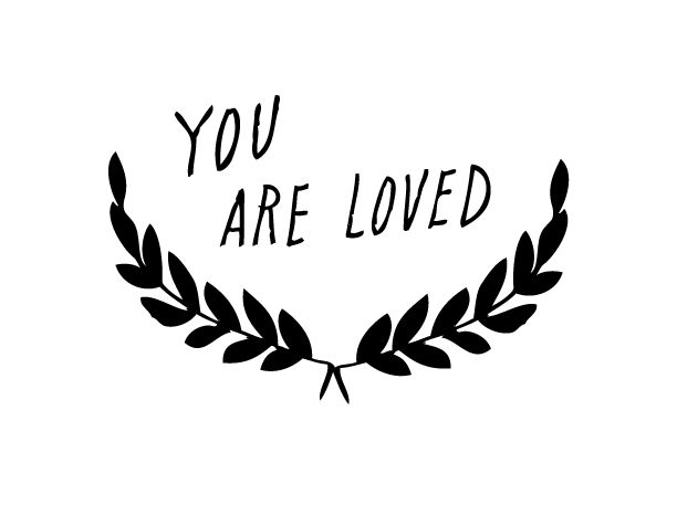 shanna murray you are loved wall sticker capitals