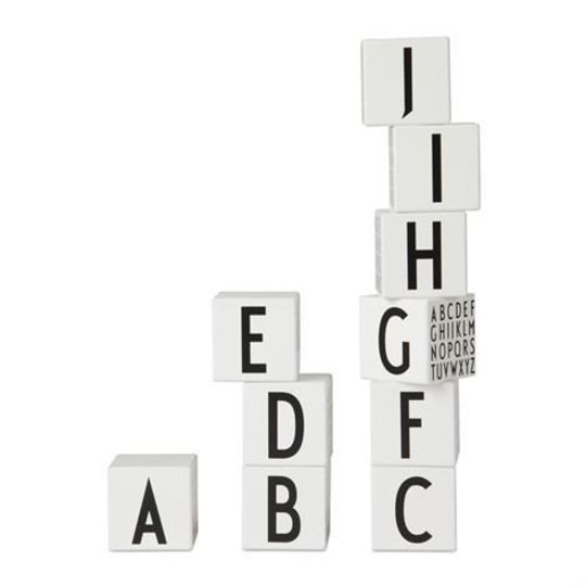 design letters alphabet blocks