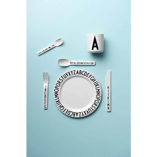 design letters melamine cutlery