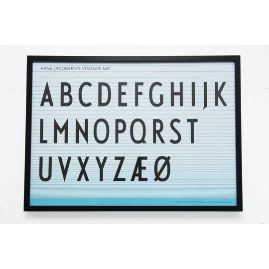 design letters poster