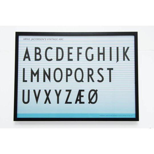 design letters poster