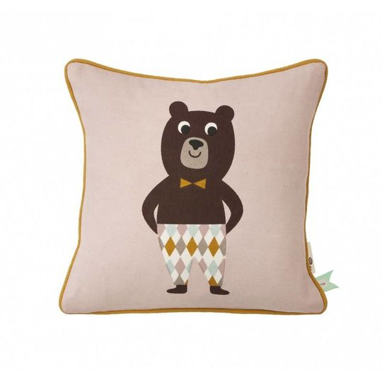 ferm living bear pillow