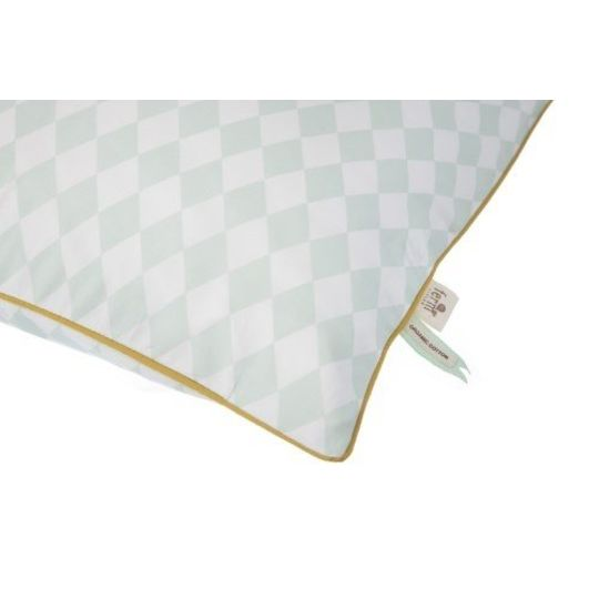 ferm living harlequin mint junior dekbed
