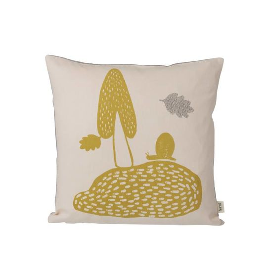 ferm living landscape pillow rose