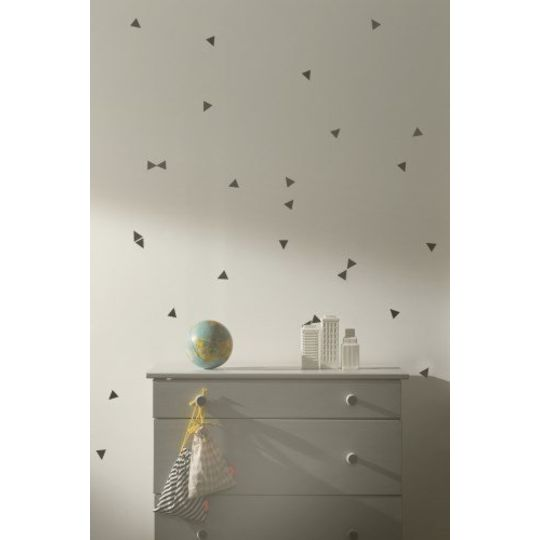 ferm living triangles black wallstickers