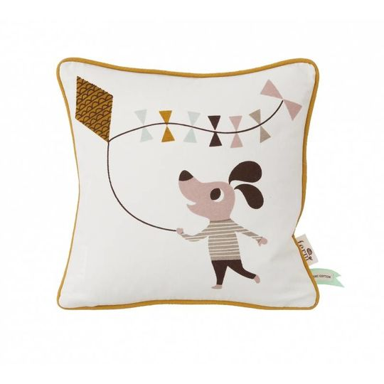 ferm living dog pillow