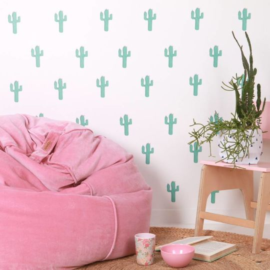 love mae cactus wall decals