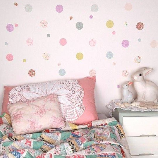 love mae polkadots wall decals