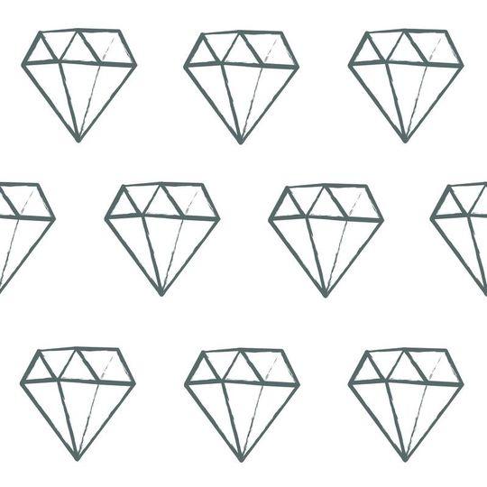 love mae diamond muurstickers