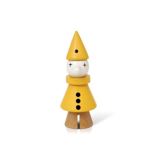 lucie kaas gunnar flørning collection clown geel
