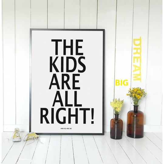 miniwilla the kids poster