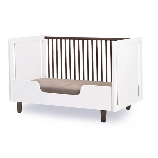 oeuf nyc rhea crib walnut