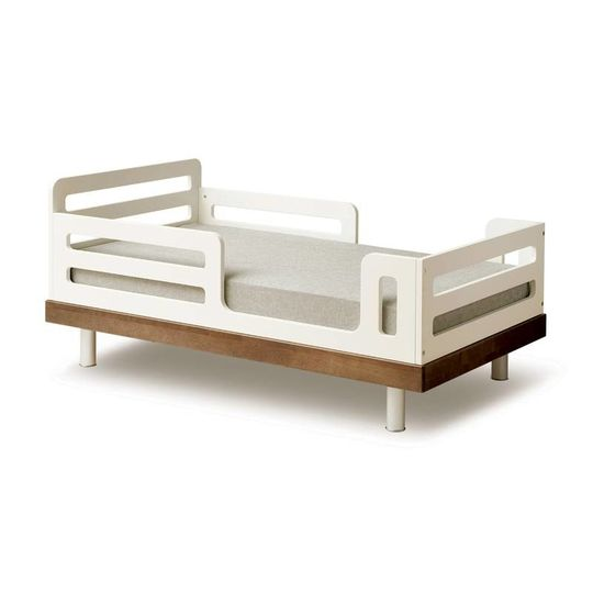 oeuf nyc classic junior bed walnut