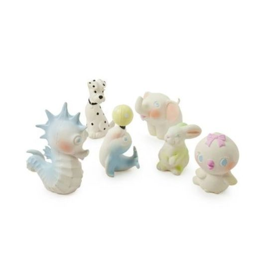 oli and carol vintage seahorse bubbles bathtoy teether