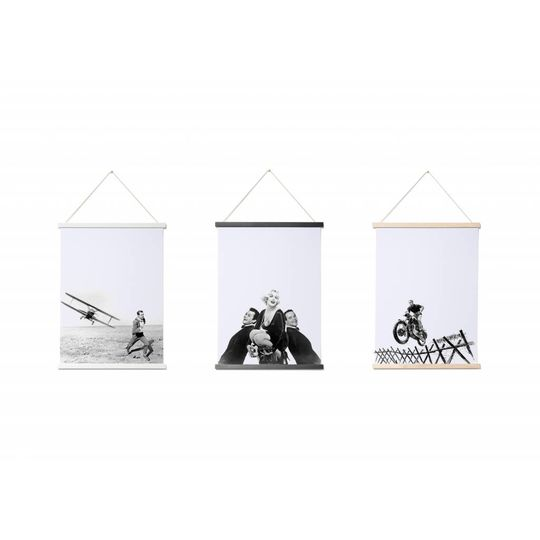 thabto magnetic poster frame A3 black
