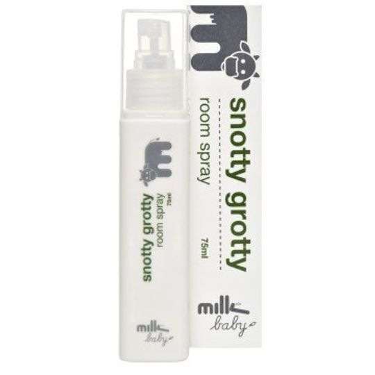 milk baby snotty grotty room spray