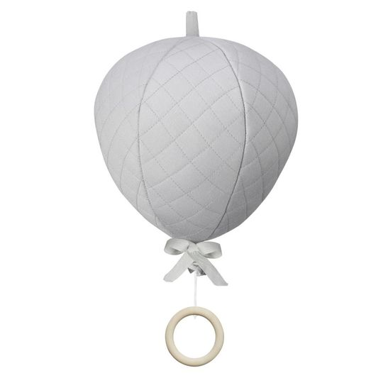 camcam copenhagen air balloon mobile music grey