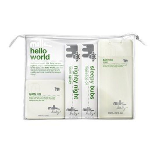 milk baby helloworld gift pack