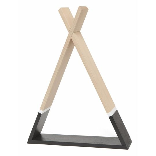 petit monkey tipi shelf black