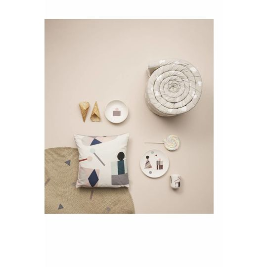ferm living party bamboe diner set