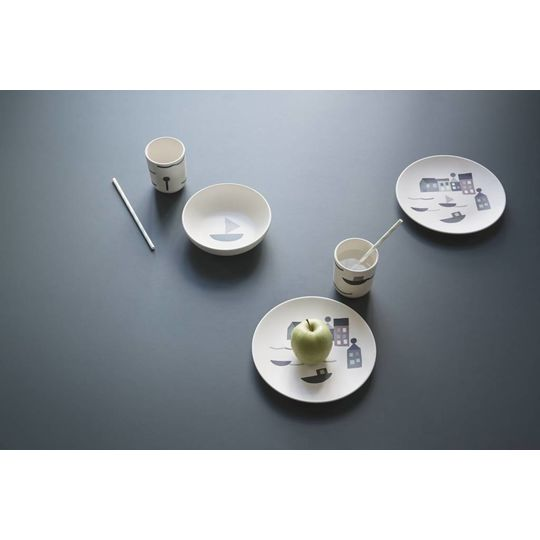 ferm living seaside bamboe diner set