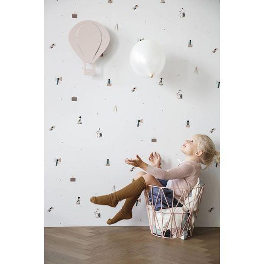 ferm living luchtballon lamp rose