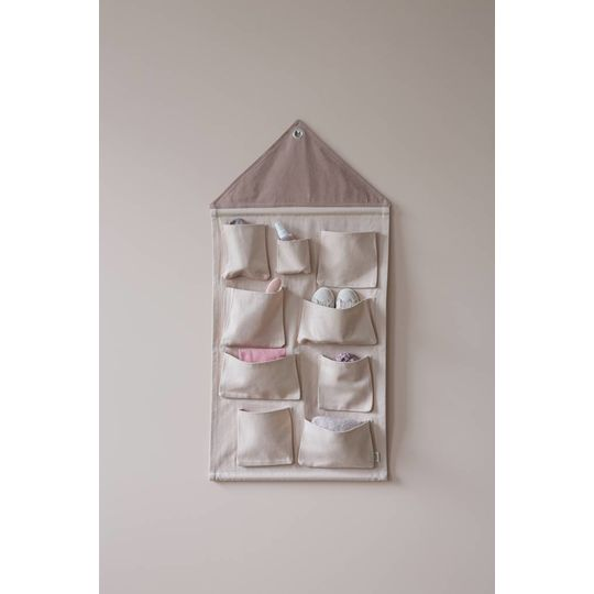 ferm living house wall storage rose