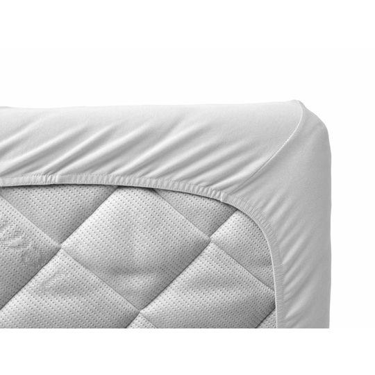 leander hoeslaken set van 2 wit 60x120 cm