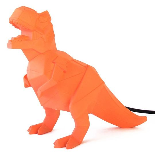 disaster designs origami lamp t-rex