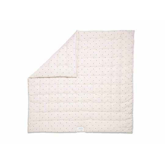 liewood baby quilt dot sweet roze 120x120