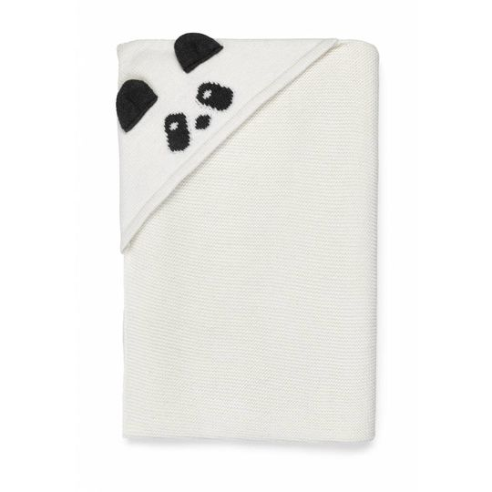 liewood willie blanket panda creme