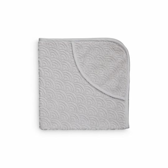 camcam copenhagen hooded towel grey