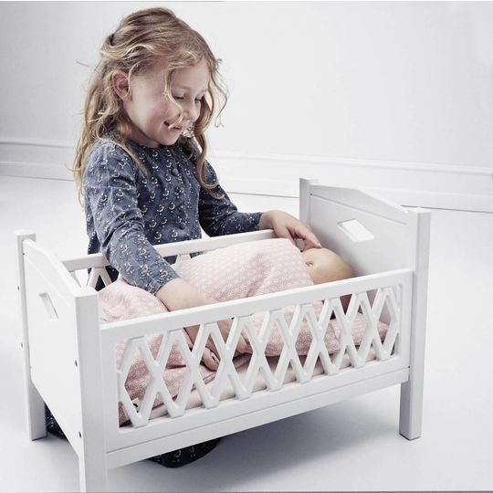 camcam copenhagen harlequin doll's bed grey