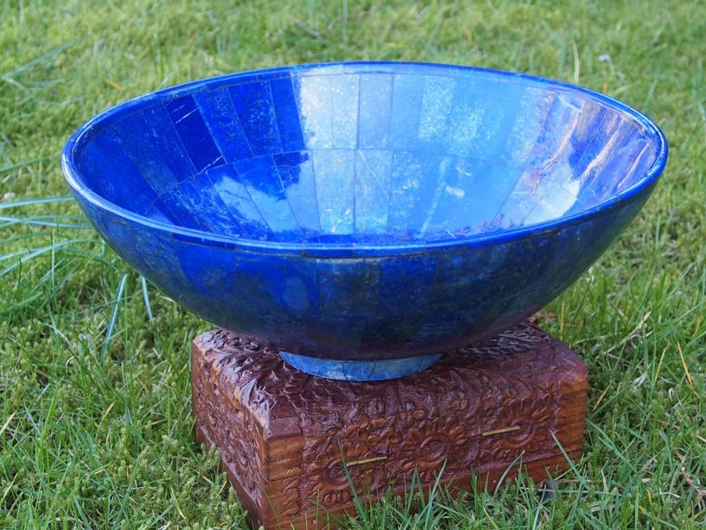 Exclusive Lapis Lazuli Schale L