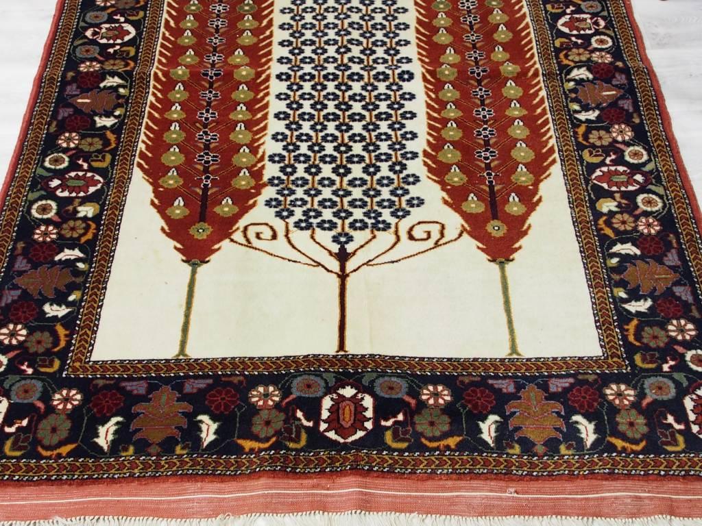 192x124 cm Afghan Nomaden Belotsch Orientteppich Wandteppich lebensbaum 17/5