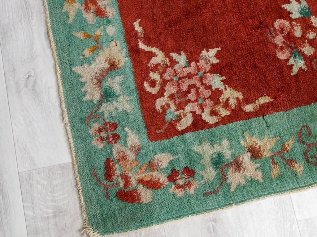 Bukhara 151x78 cm Antik chinesische orient Teppich Brücke antique chinese rug carpet N-6
