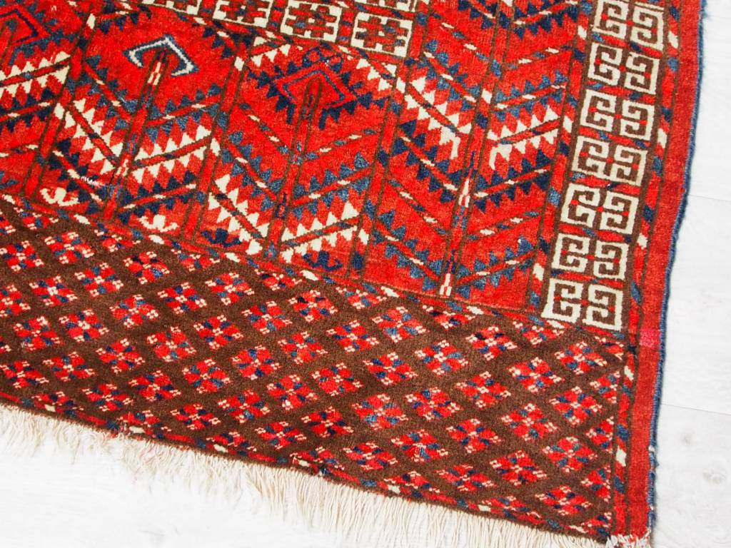 antik tekke Turkmen Nomaden Teppich bukhara engsi hatchli Zelt Rug carpet Nr:6