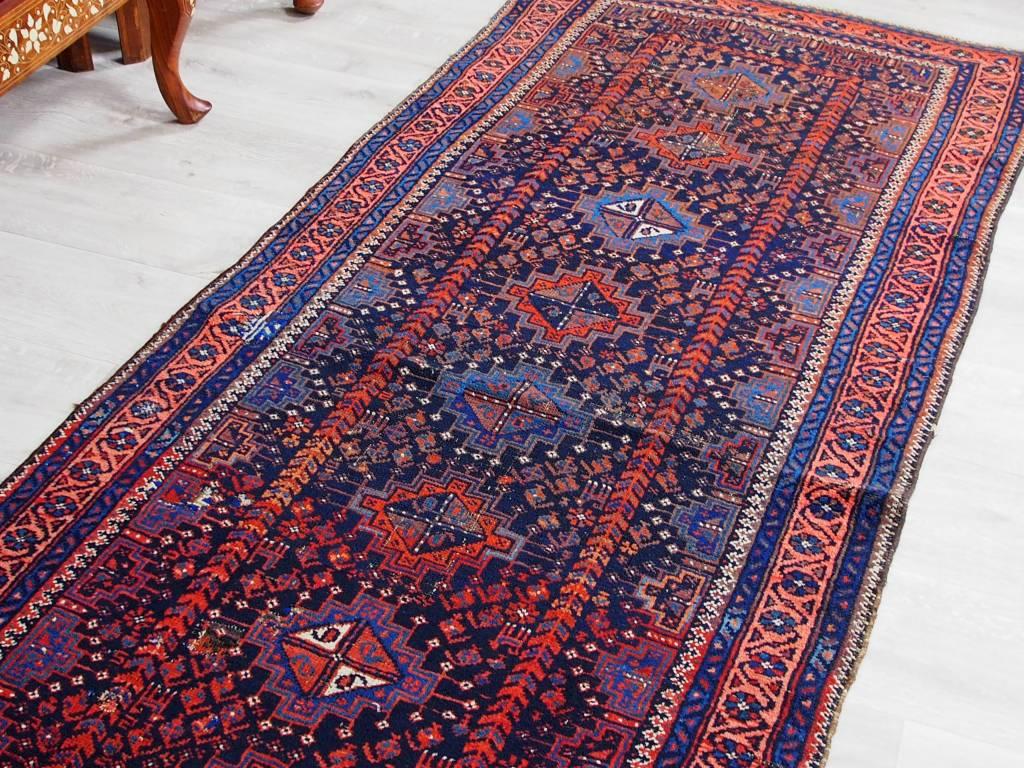 Bukhara  264x94 cm selten antik afghan orient Nomaden belosch Teppich nomadic rug Nr-17/7