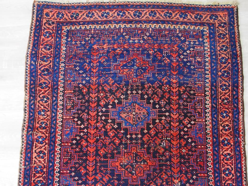 264x94 cm selten antik afghan orient Nomaden belosch Teppich nomadic rug Nr-17/7