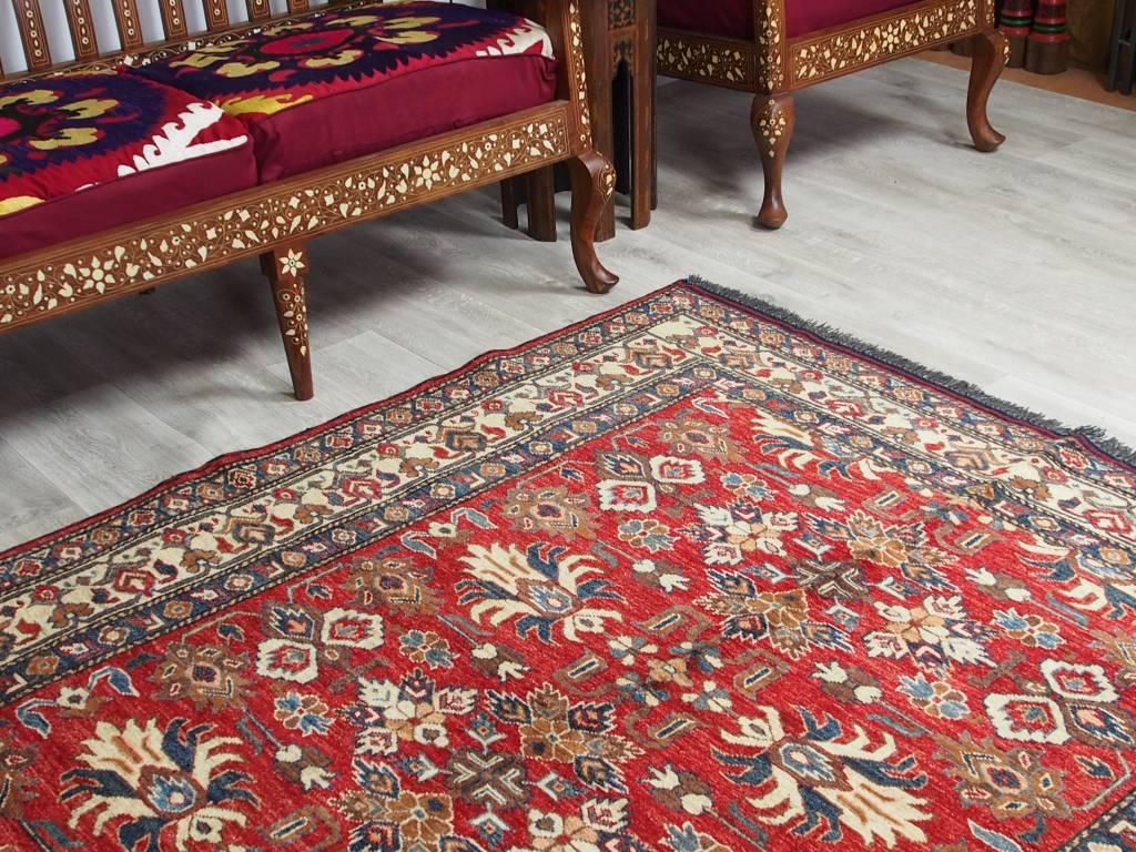 207x154 cm kaukasische kazak Afghan orientteppich kazakh rug Carpet ziegler Nr:17/1
