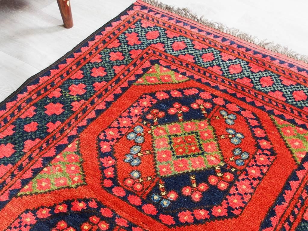 125x90 cm Turkmenische Afghan orientteppich kazakh rug Carpet ziegler Nr:19