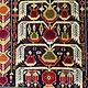 148x100 cm Afghan Nomaden Belotsch Orientteppich Wandteppich Ali Khoja 524