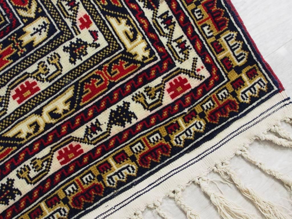 Bukhara  148x100 cm Afghan Nomaden Belotsch Orientteppich Wandteppich Ali Khoja 524