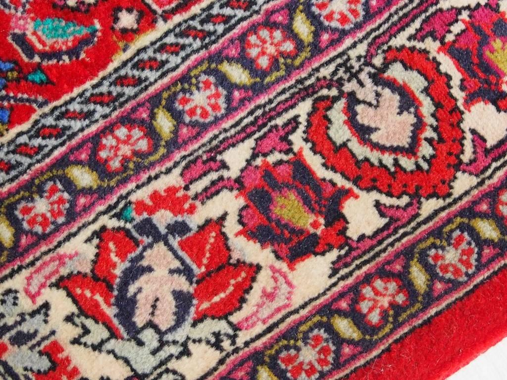 Bukhara  144x88 cm super-feine echt handgeknüpfte alter  Bidjar Orientteppich 50