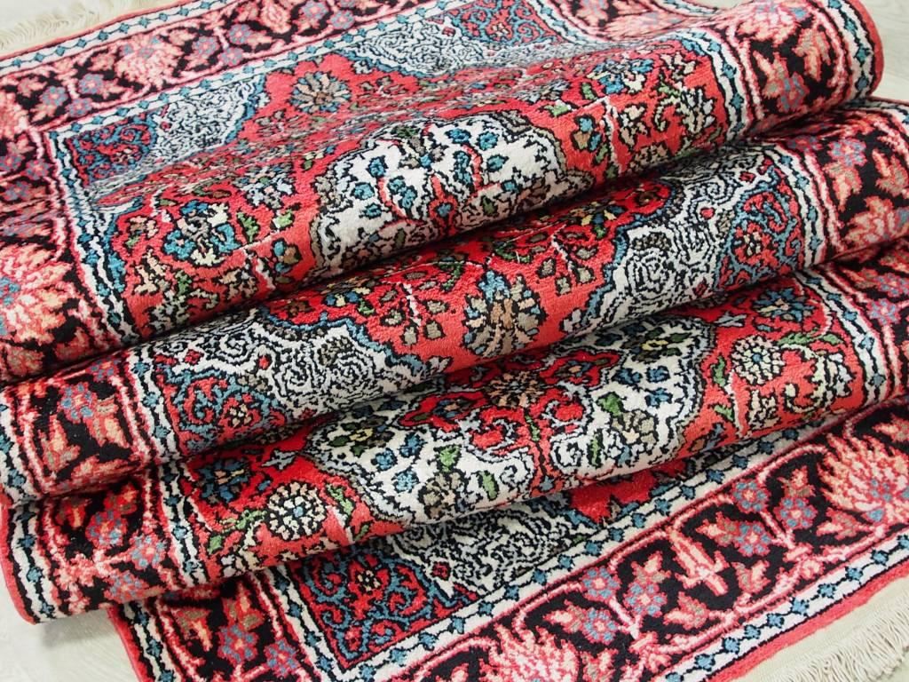 Bukhara 240x78 cm Kashmirseide Teppich Nr:105