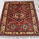 144x90 cm kaukasische kazak Afghan orientteppich kazakh rug Carpet ziegler Nr:514