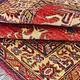 126x92 cm kaukasische kazak Afghan orientteppich kazakh rug Carpet ziegler Nr:522