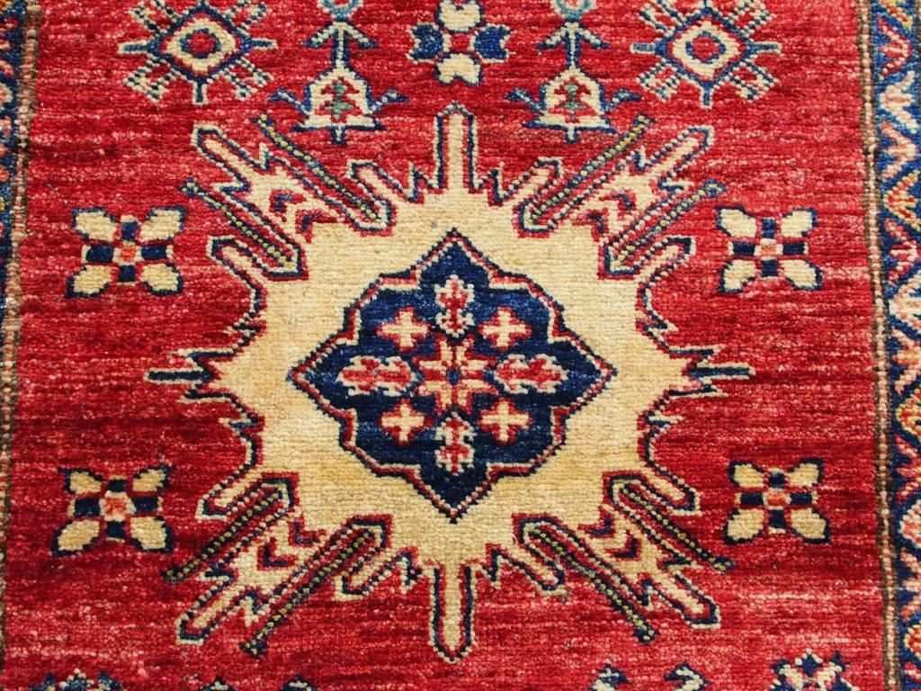 160x90 cm kaukasische kazak Afghan orientteppich kazakh rug Carpet ziegler Nr:21