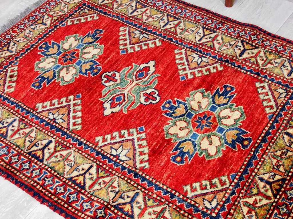 112x87 cm ziegler  Afghan orientteppich kazakh rug Carpet ziegler Nr:515