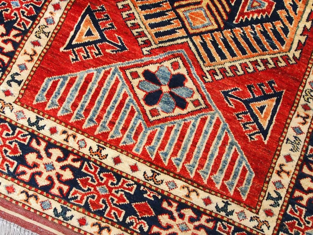 Bukhara  140x100 cm ein Paar kaukasische kazak Afghan orientteppich kazakh rug Carpet ziegler Nr:521